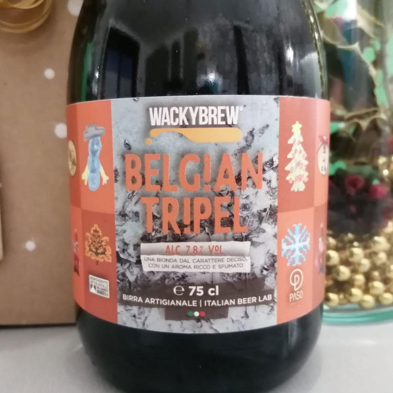 """Craft Beer """"Belgian Tripel"""" 75cl - Wackybrew"""