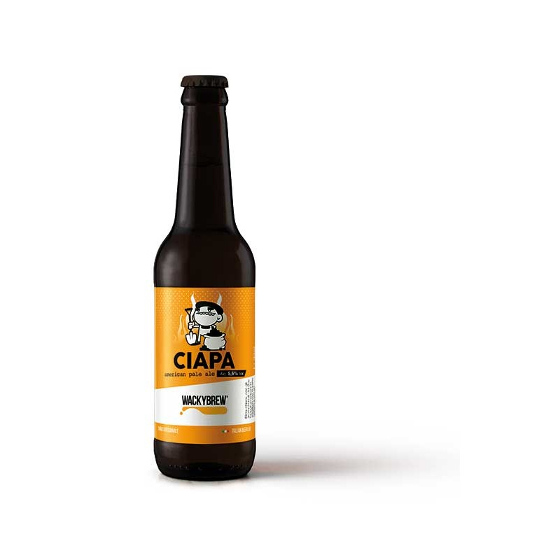 """American Pale Ale Craft Beer """"Ciapa"""" 33cl - Wackybrew"""