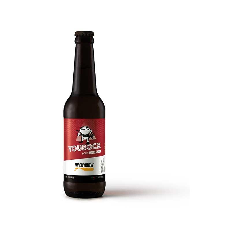 """Bock Craft Beer """"YOUBOCK"""" 33cl - Wackybrew"""