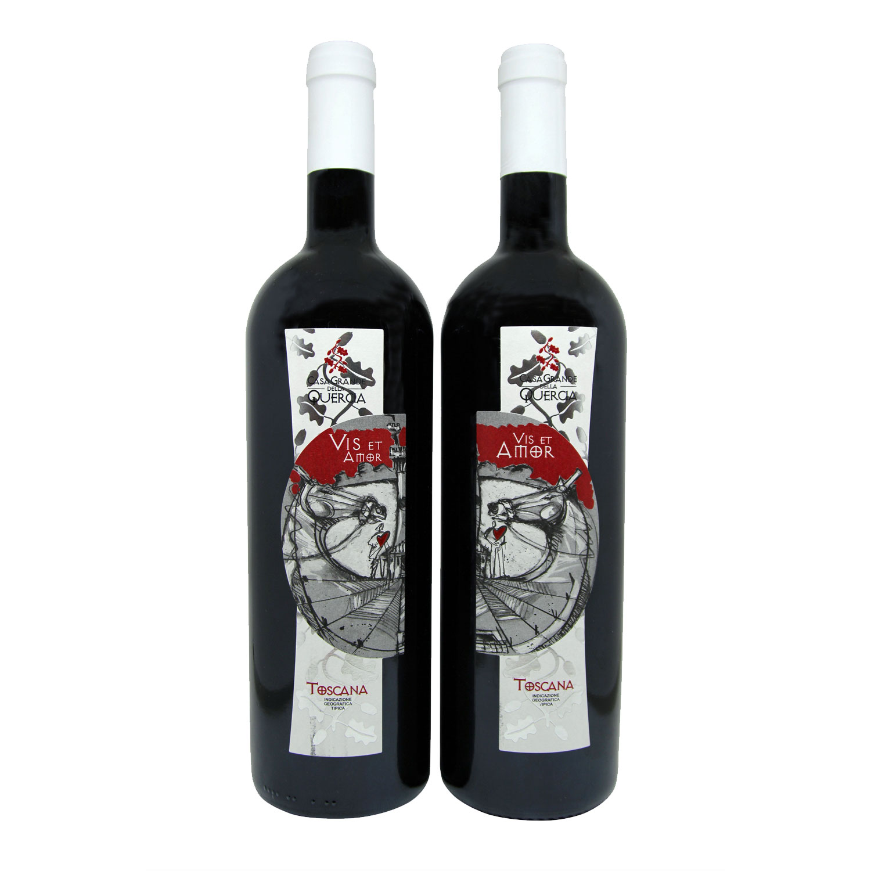 "Toscana IGT ""Vis Et Amor"" 2016 (2 bottiglie) - Casagrande Della Quercia"