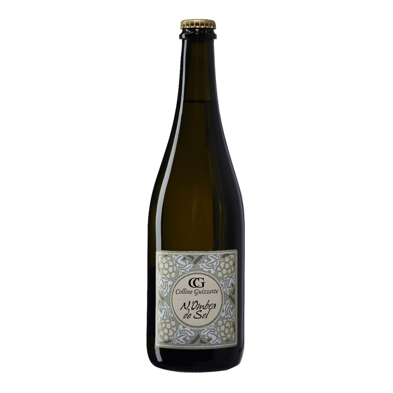 """Vino Bianco Frizzante Sui Lieviti """"N'Ombra De Sol"""" - Colline Guizzette"""