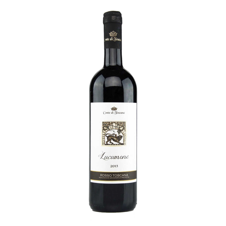 "Rosso Toscana IGP ""Lucumone"" 2013 - Conte di Toscana"