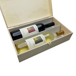 """""""Saloncello+Torre della Sirena"""" 2Box (cassetta di legno) - Conti Sertoli Salis"""