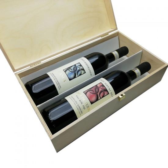 Canua+Capo di Terra 2Box (cassetta di legno) - Conti Sertoli Salis