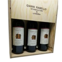 """""""Trio DOC"""" 3 box (cassetta di legno) - Gianni Ramello"""