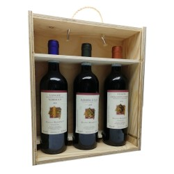 Trio DOC 3 box (cassetta di legno) - Gianni Ramello