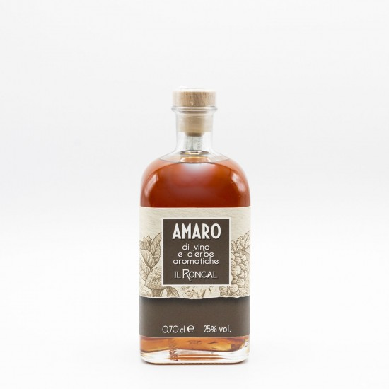Amaro - wine and aromatic herbs liqueur - Il Roncal