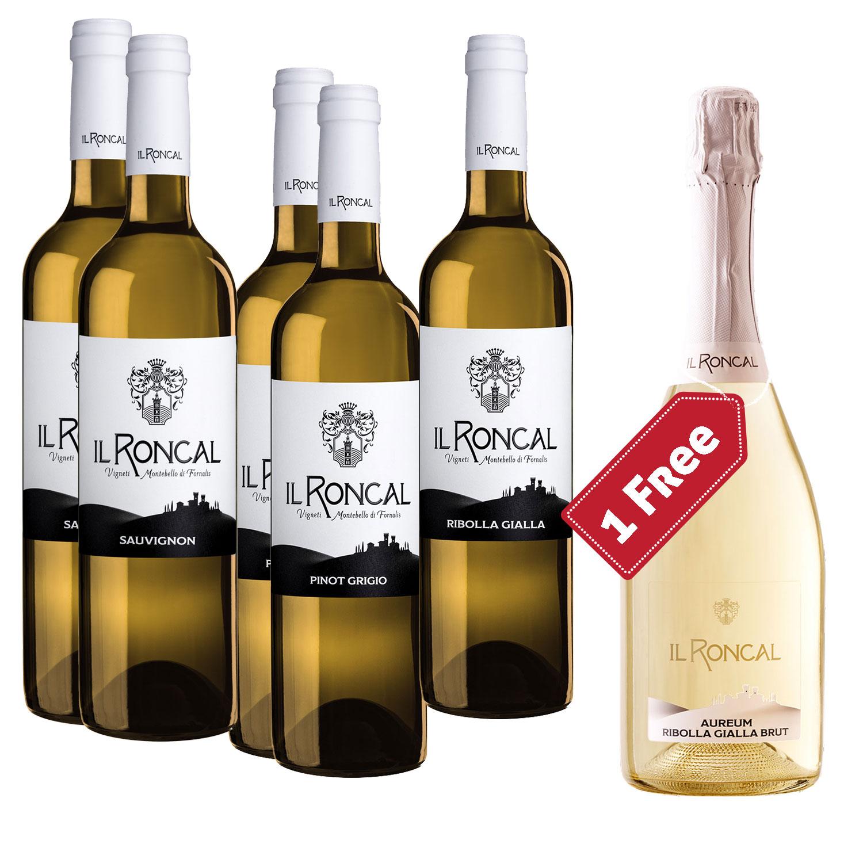 Friuli White Box (5+1 bottles) - Il Roncal