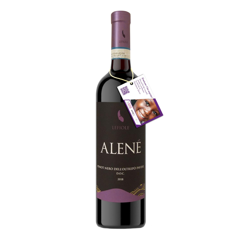 "Oltrepò Pavese Pinot Nero DOC ""Alené"" 2018- Lefiole"