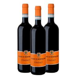 3x Rosso di Montalcino DOC 2017  - Pinino