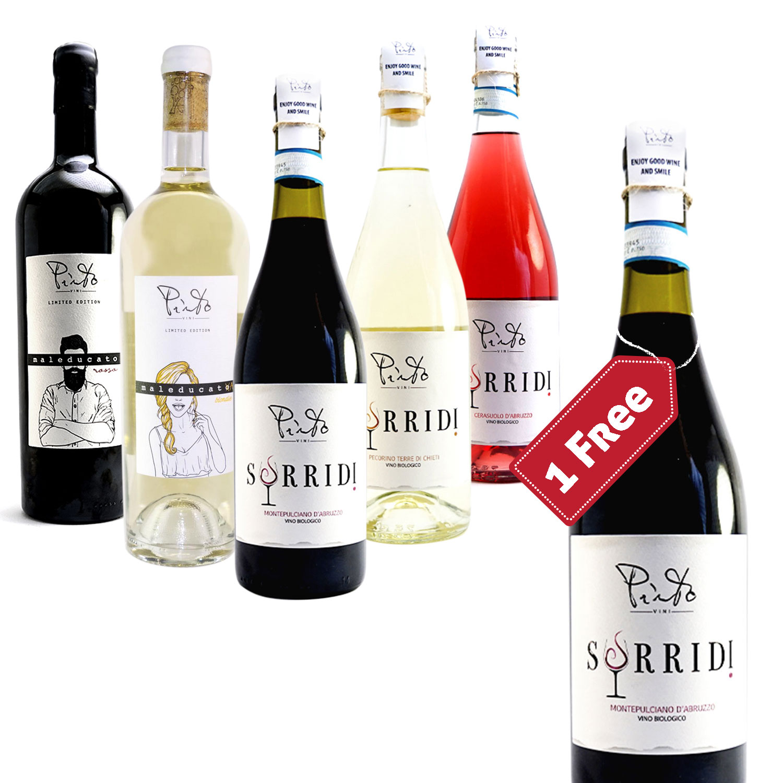 Pinto Box (5+1 bottles) - Pinto