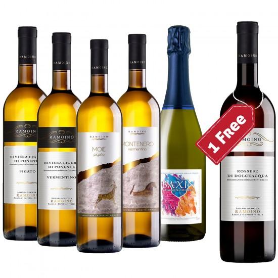 Liguria Taste Box (5+1 bottiglie) - Ramoino