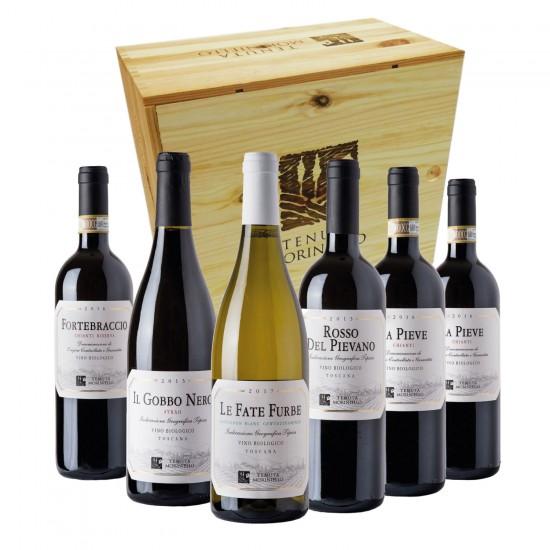 Tenuta Moriniello Taste Box (cassetta di legno)