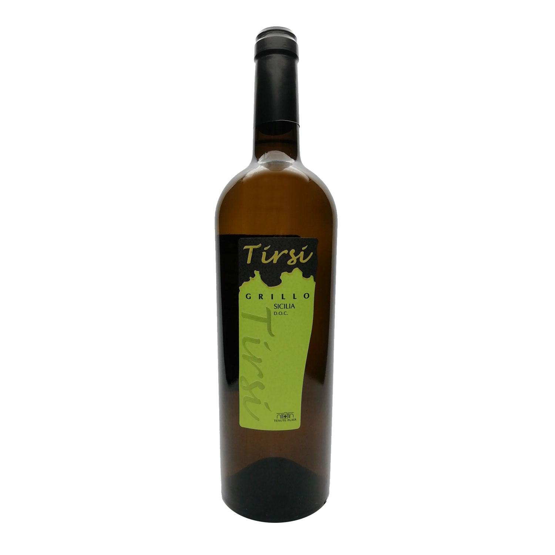 """Grillo Sicilia DOC """"Tirsi"""" 2018 - Tenute Plaia"""