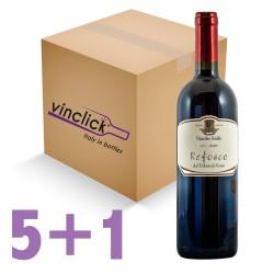 Refosco dal Peduncolo Rosso IGT 2016 [box5+1 free] - Vitacchio